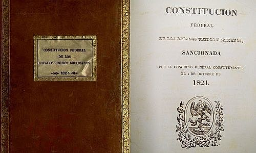 1824 Primera Constitución Mexicana