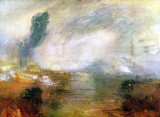 """""""il Tamigi sotto il ponte di Waterloo"""""""