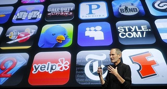 App store of iPhone