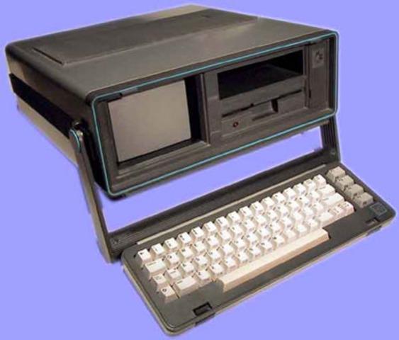 La Primera Computadora Portatil