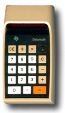 1ra Calculadora de Bolsillo