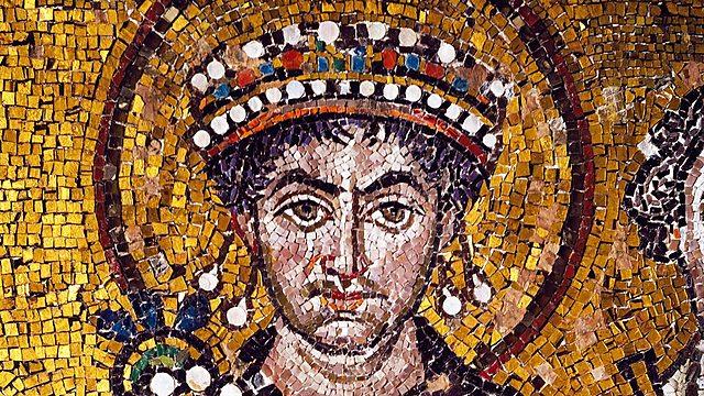 Byzantinischer Kaiser Justinus schließt Theater