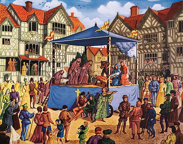 Die Geburt des mittelalterlichen Theaters