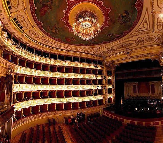 Farnese Theater in Parma