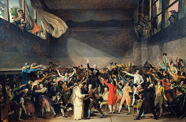 Louis XVI Gives In to the National Assembly, Promises a Constitution