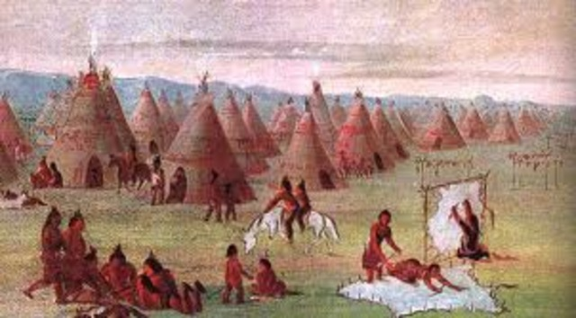 Permanent Dwellings of the indians