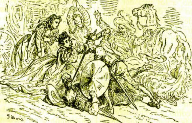 Don Quijote contra el Vizcaino