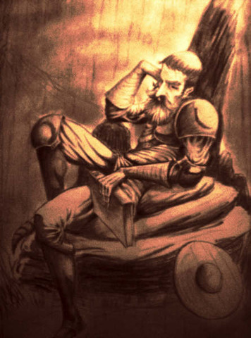 Don Quijote Salva Un Vasallo