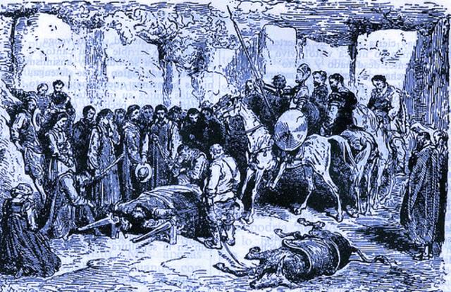 Don Quijote en el entierro de Crisónomo