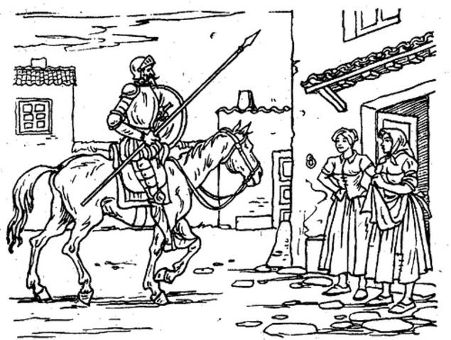 Don Quijote Sale de la venta