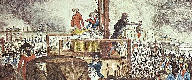 King Louis XVI's Execution