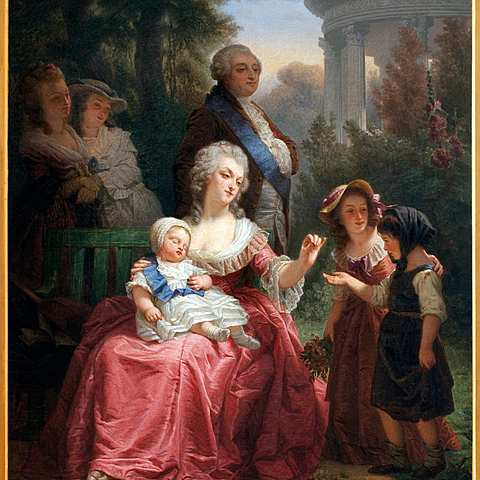 Marie Antoinette and Louis XVI's Marriage