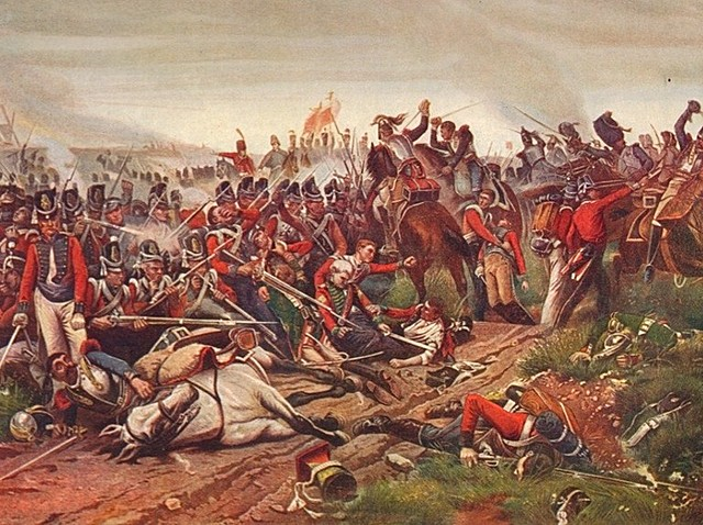 Napoleons' Final Defeat at the Battle of Waterloo