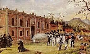 Morelos fusilado