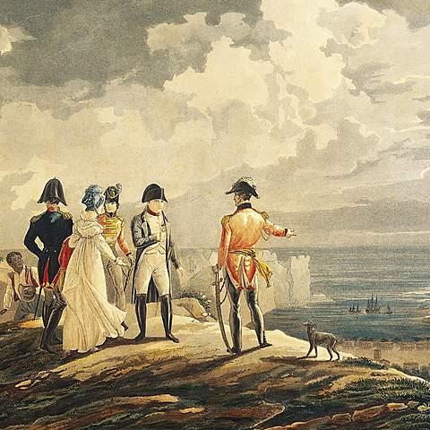 Napoleon Exiled to St. Helena
