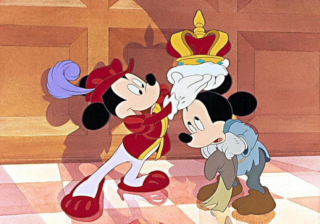 """""""El príncipe y el mendigo"""" de Walt Disney."""