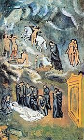 Evocación. El funeral de Casagemas.