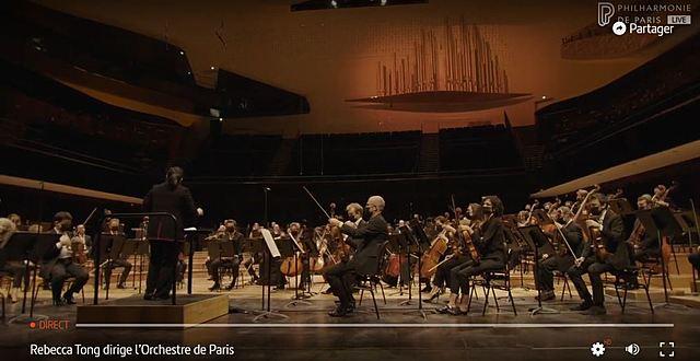 REBECCA TONG X ORCHESTRE DE PARIS