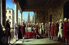 President George Washington is inaugurated.