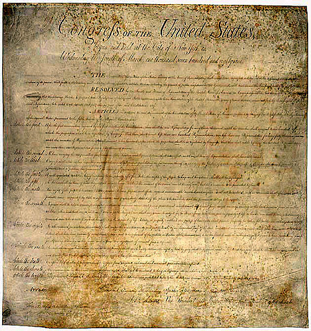 Bill of Rights is ratified.
