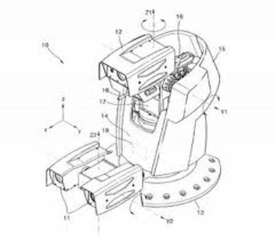 primera patente para diseño de robot