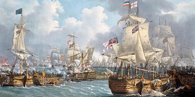 The Battle of Trafalger