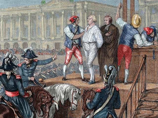 King Lous XVI Execution