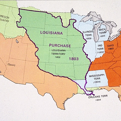 The Louisiana gets sold to the U.S