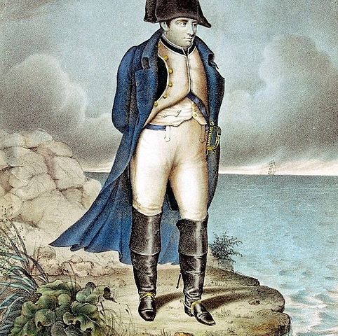 Napoleons first exile