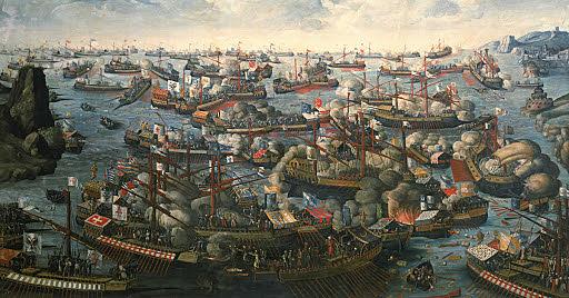 Battaglia di Lepanto: è arrestata l'avanzata dei turchi verso Occidente