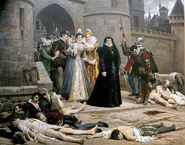 """""""Notte di san Bartolomeo"""": eccidio degli ugonotti in Francia"""