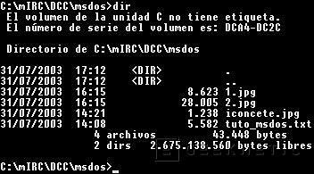 Primer sistema operativo MS-DOS