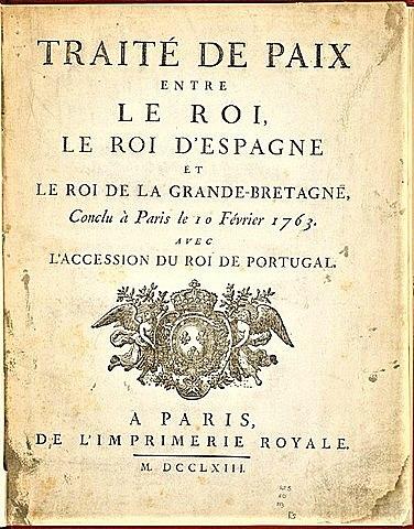 Treaty of Paris ends the Revolutionary War