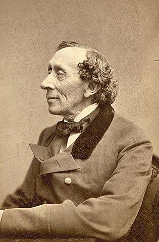 Hans Christian Andersen. (1805-1875).