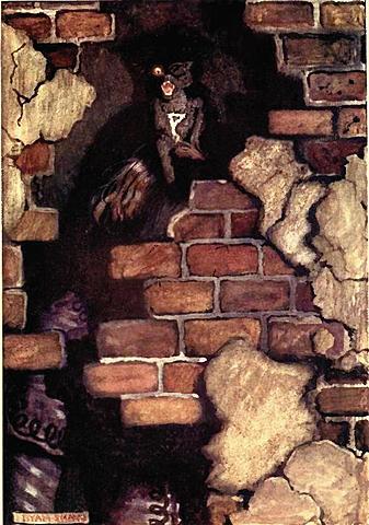 """El gato negro"" de E. Allan Poe."