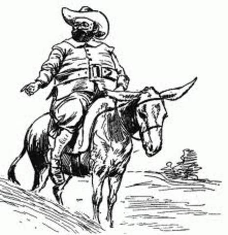 Aparece Sancho Panza