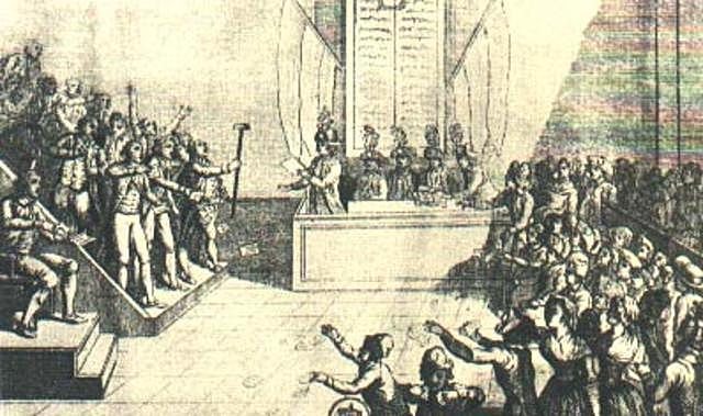 Creation of the Revolutionary Court