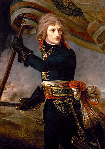 Napoleon named as general of the army of Italy