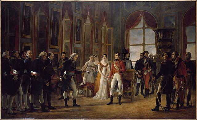 Napoleon was declared Emperor by the Senate