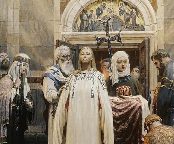 Крещение княгини Ольги