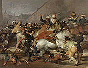 Beginning of the Peninsular War which will last until Napoleon's defeat against the Sixth Coalition in 1814.
