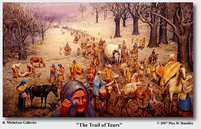 """""""The Trail of Tears"""""""
