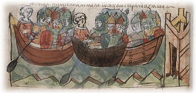 Второй Поход Игоря  на Царьград