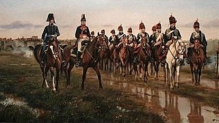 Entrada de las tropas francesas en la Península.