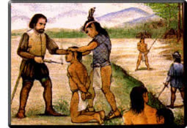 Esclavizacion de los Indigenas