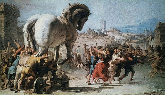 End of Trojan war