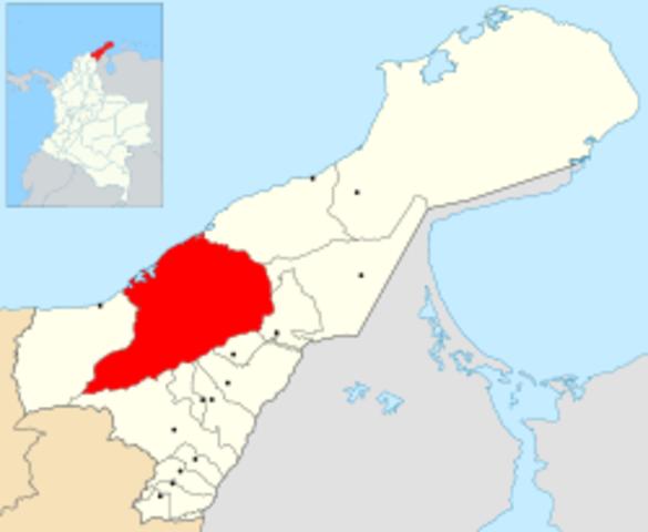 Se funda la ciudad de Riohacha.