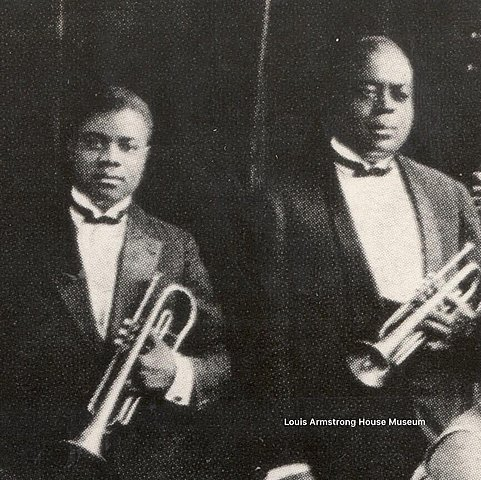 KING OLIVER Y LOUIS ARMSTRONG