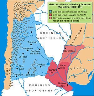 Creación de la Liga Unitaria
