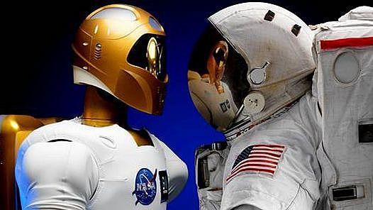 El primer robot humanoide enviado al espacio